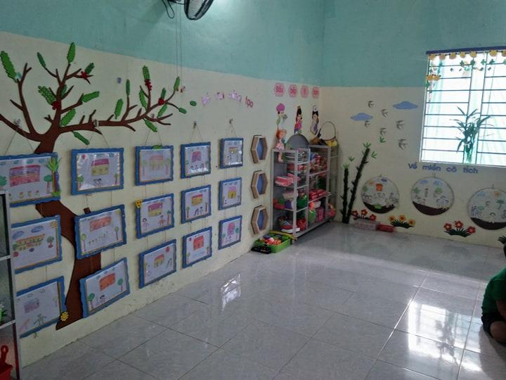 Hội thi trang trí môi trường lớp lớn 1